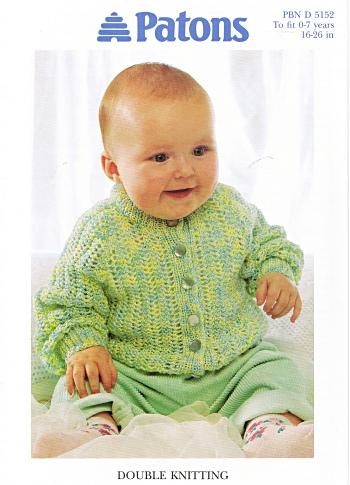BABY RAGLAN CARDIGAN 16-26