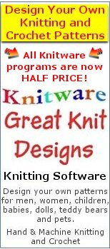 Great Knit Designs Knitware Software