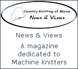 Country Knitting of Maine News and Views Magazine